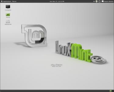 linux mint 12 gnom clasic
