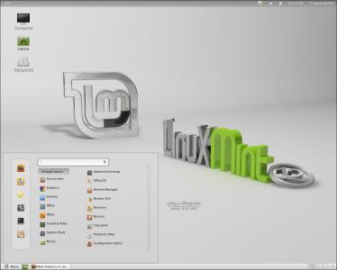 linux mint 12 gnom shell MGSE